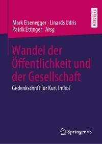 Cover Wandel der Öffentlichkeit und der Gesellschaft