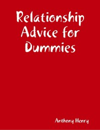 Cover Relationship Advice for Dummies