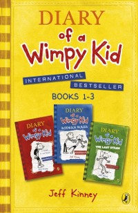Cover Diary of a Wimpy Kid Collection: Books 1 - 3