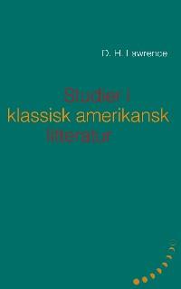 Cover Studier i klassisk amerikansk litteratur (1923)