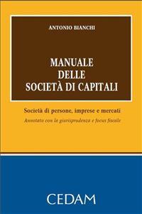 Cover Manuale delle società di capitali
