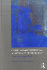 Cover Challenging Institutional Analysis and Development