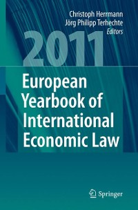 Cover European Yearbook of International Economic Law 2011