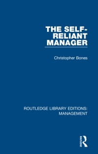 Cover Self-Reliant Manager