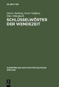 Cover Schlüsselwörter der Wendezeit
