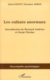 Cover Enfants anormaux Les