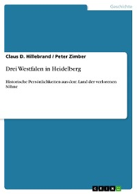 Cover Drei Westfalen in Heidelberg