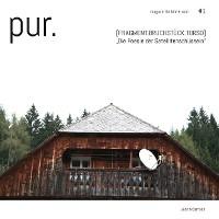 Cover pur.  magazin für bild + wort  [#1]
