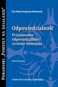 Cover Accountability: Taking Ownership of Your Responsibility (Polish)