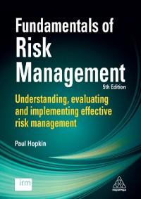 Cover Fundamentals of Risk Management