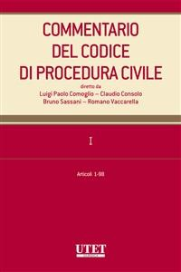 Cover Commentario del Codice di procedura civile. I - artt. 1-98