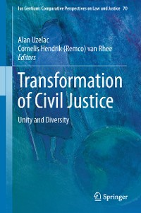 Cover Transformation of Civil Justice