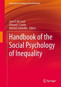 Cover Handbook of the Social Psychology of Inequality