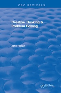 Cover Creative Thinking And Problem Solving