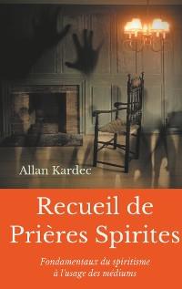 Cover Recueil de Prieres Spirites
