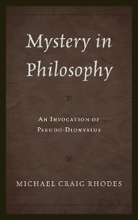 Cover Mystery in Philosophy