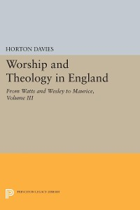 Cover Worship and Theology in England, Volume III