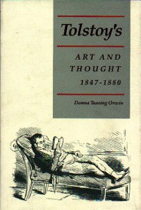 Cover Tolstoy's Art and Thought, 1847-1880