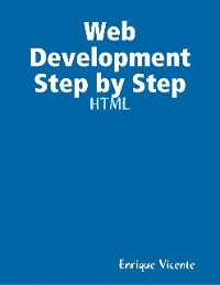 Cover Web Development Step by Step - HTML