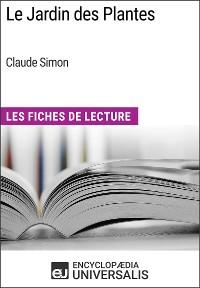 Cover Le Jardin des Plantes de Claude Simon