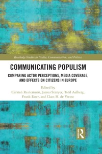 Cover Communicating Populism