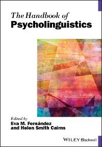 Cover The Handbook of Psycholinguistics