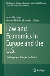 Cover Law and Economics in Europe and the U.S.