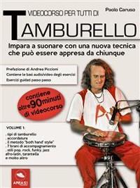 Cover Videocorso per tutti di tamburello. Volume 1