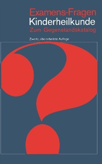 Cover Examens-Fragen Kinderheilkunde