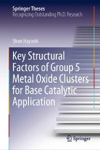 Cover Key Structural Factors of Group 5 Metal Oxide Clusters for Base Catalytic Application