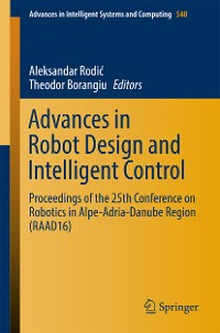 Cover Advances in Robot Design and Intelligent Control