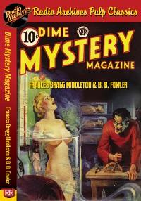 Cover Dime Mystery Magazine - Frances Bragg Mi