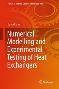 Cover Numerical Modelling and Experimental Testing of Heat Exchangers