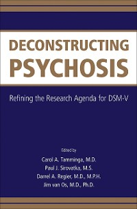 Cover Deconstructing Psychosis