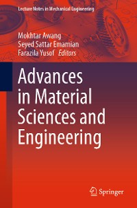 Cover Advances in Material Sciences and Engineering