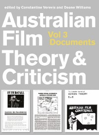 Cover Australian Film Theory and Criticism