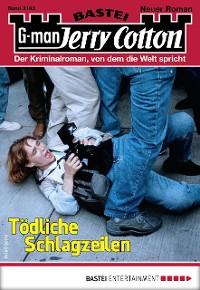 Cover Jerry Cotton 3193 - Krimi-Serie