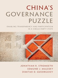 Cover China's Governance Puzzle