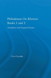 Cover Philodemus on Rhetoric Books 1 and 2