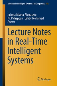 Cover Lecture Notes in Real-Time Intelligent Systems