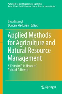 Cover Applied Methods for Agriculture and Natural Resource Management