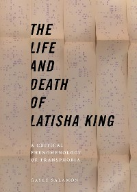 Cover The Life and Death of Latisha King