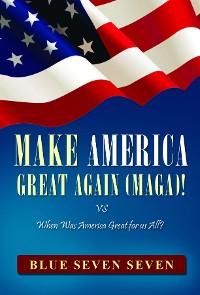 Cover MAKE AMERICA GREAT AGAIN (MAGA)!