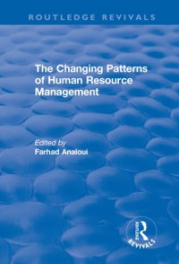 Cover Changing Patterns of Human Resource Management