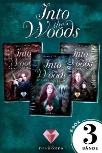 Cover Into the Woods: Alle 3 Bände der Reihe über die Magie der Wälder in einer E-Box!