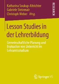 Cover Lesson Studies in der Lehrerbildung