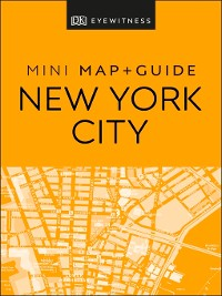 Cover DK Eyewitness New York City Mini Map and Guide