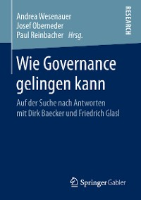 Cover Wie Governance gelingen kann