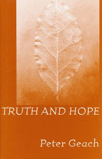 Cover Truth and Hope