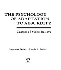 Cover Psychology of Adaptation To Absurdity